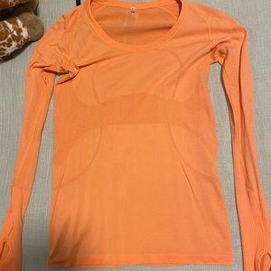 lululemon athletica Swiftly Tech Orange LS
